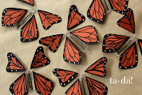 Image: How To Make Beautiful Wind-Up Paper Butterflies