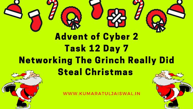 TryHackMe Advent of Cyber 2 Day 7 Walkthrough