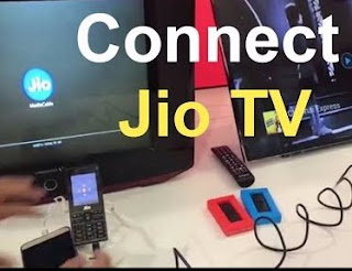How to Connect Jio Phone With TV in Hindi