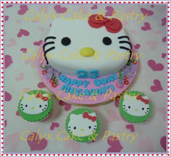 Calyx Cake Amp Pastry Cake Ultah Hello Kitty