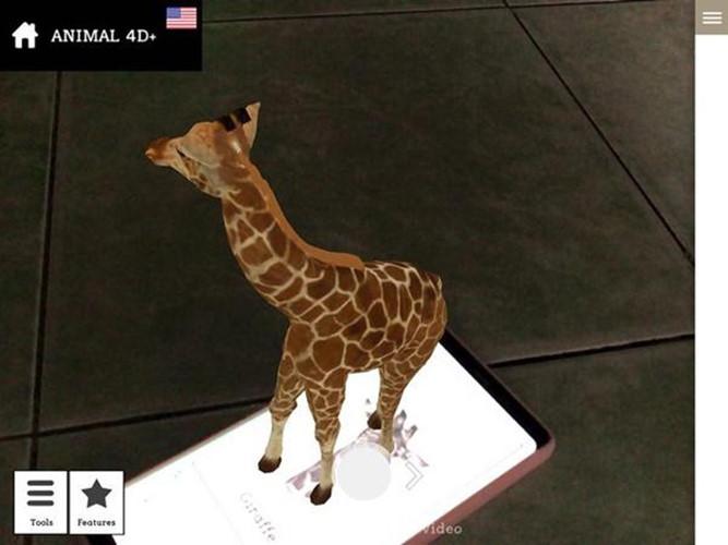 Hướng dẫn sử dụng Animal 4D+ tạo con vật trên màn hình điện thoại