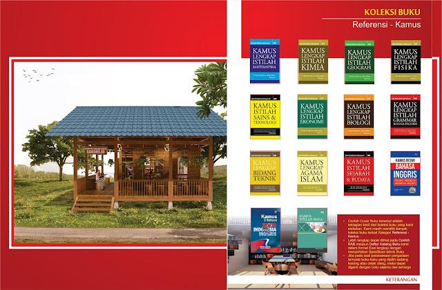 Buku Referensi - Kamus Untuk Perpustakaan Desa