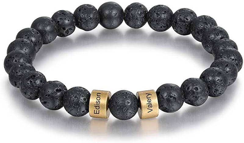 Personalized Beads Bracelets for Men 50% off