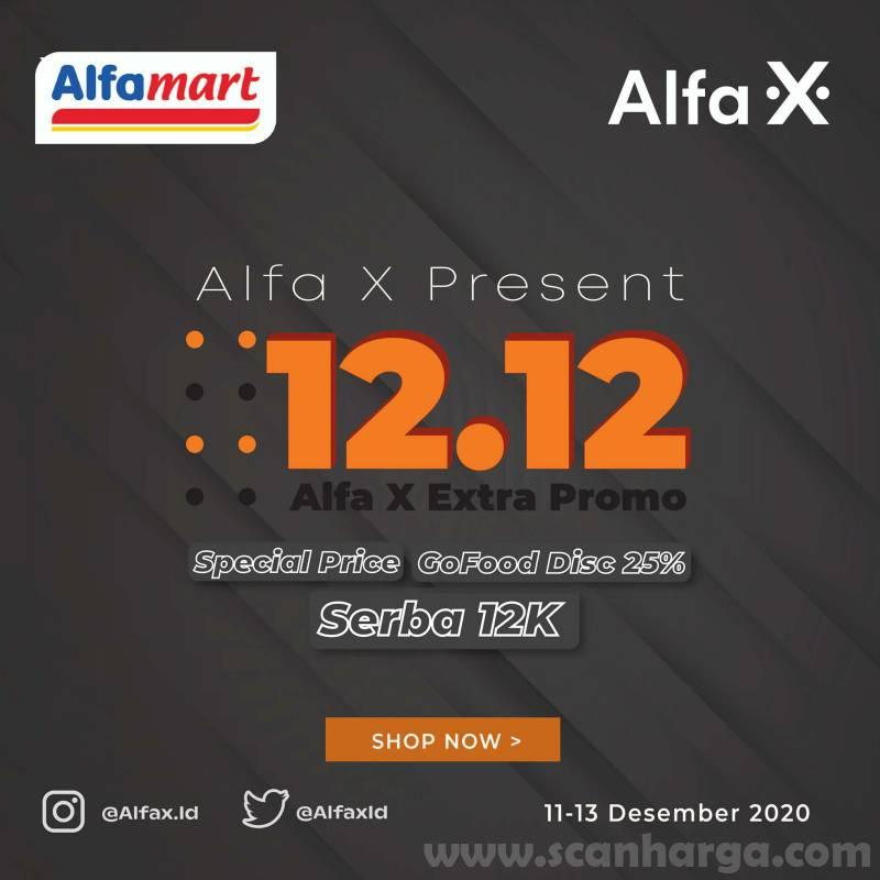 Alfamart / Alfa X Promo Flash Sale 12.12 – Best Offer mulai Rp 12.000 atau pilih Beli 1 Gratis 1
