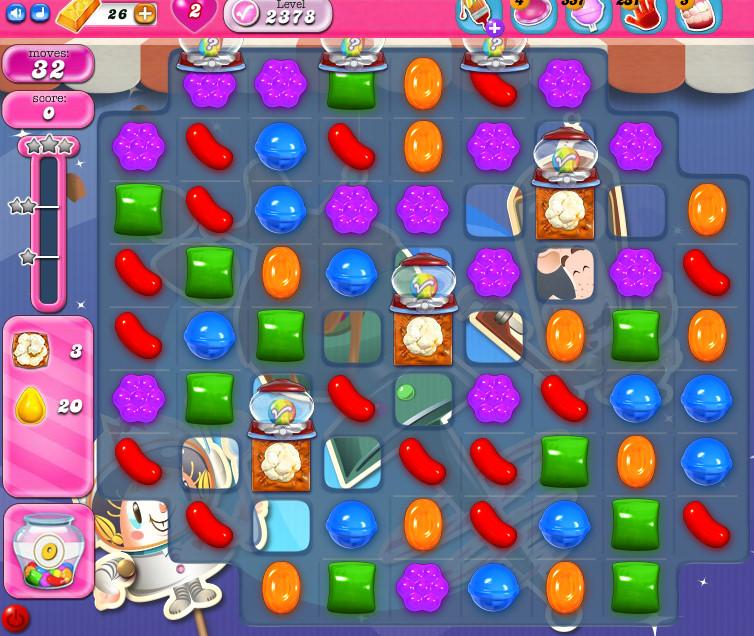 Candy Crush Saga level 2378
