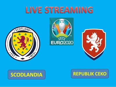 Link Live Streaming Euro Skotlandia vs Republik Ceko