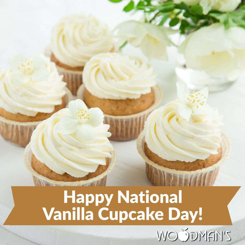 National Vanilla Cupcake Day Wishes Images