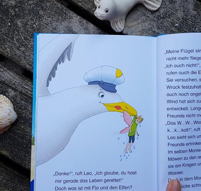 """Heute ein Buch! Die elfenstarke Umwelt-Kinderbuch-Serie """"Leonie Looping"""" und das Thema """"Müll im Meer"""". Die Geschichten von Cally Stronk und die Illustrationen von Constanze von Kitzing sind zauberhaft und möwenstark."""