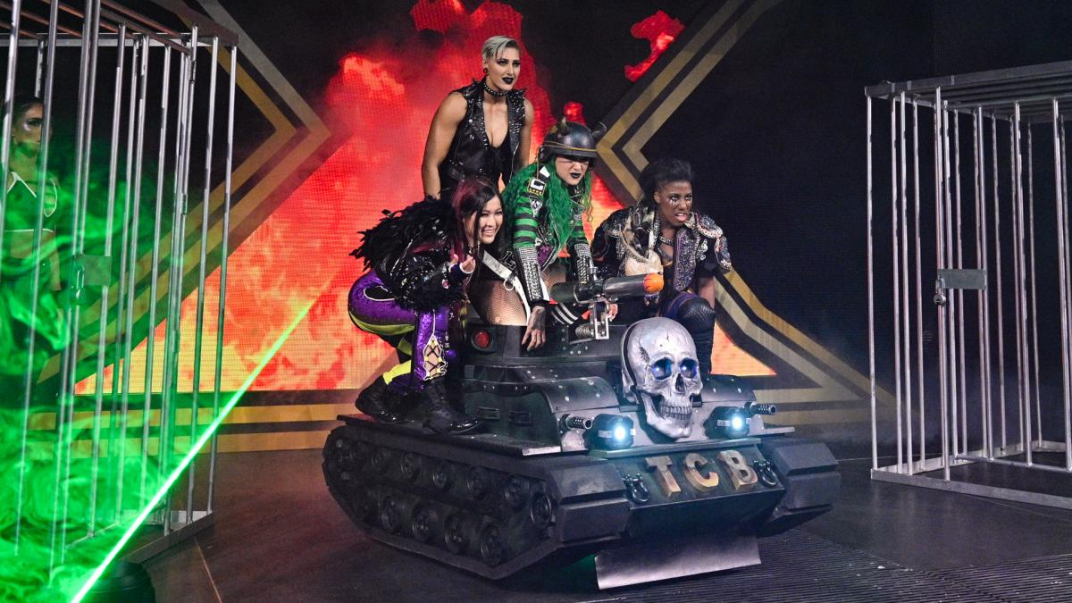 Team Shotzi Blackheart in WWE NXT TakeOver: WarGames 2020