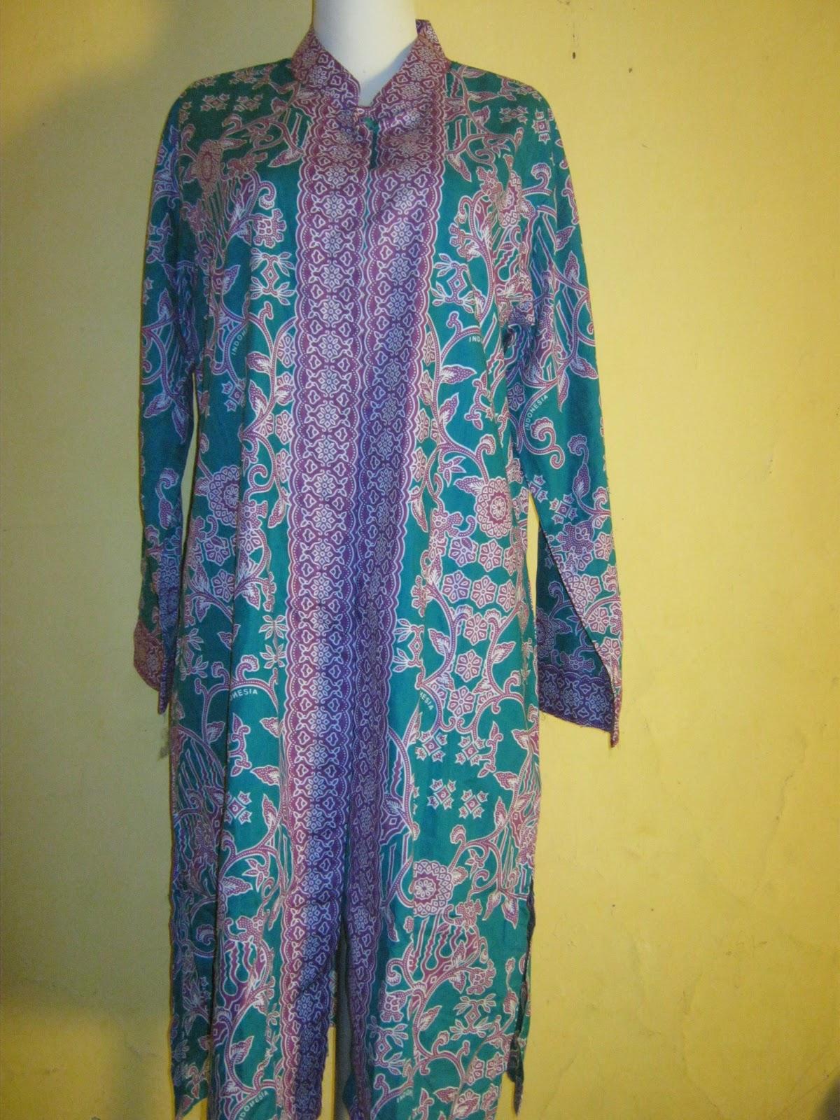 Model Gamis Batik Seragam Umroh Galeri Mukena Terbaru