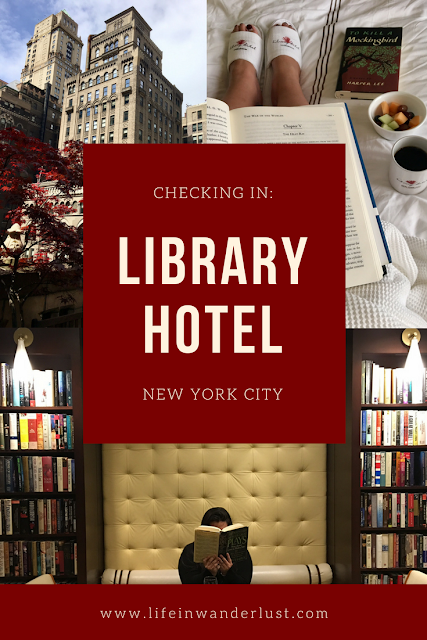 Library Hotel New York City Review
