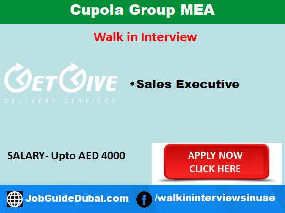 Job in Dubai for Sales Executive at Al Qusais for logistic company