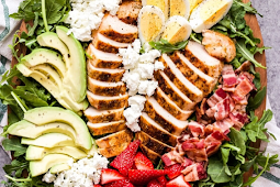 California Cobb Salad #vegan #recipevegetarian