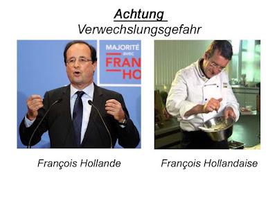 Francois Hollande Hollandaise