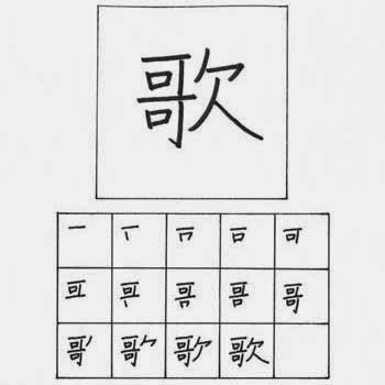 kanji lagu