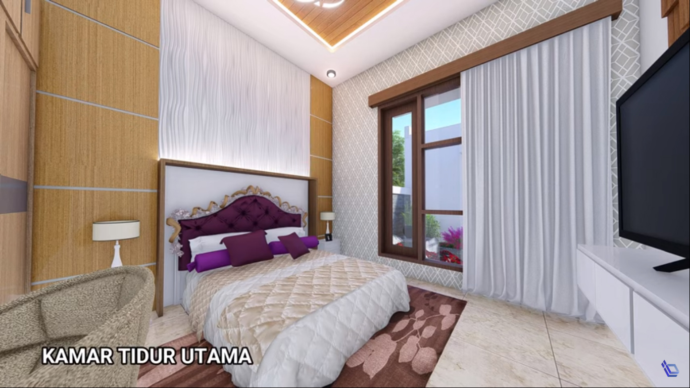 Desain Rumah Minimalis dan Toko Dengan 3 Kamar Tidur ...