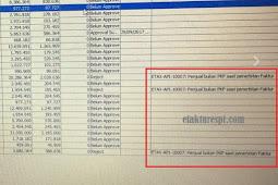 Upload Faktur Reject Error ETAX-API-10007 : Penjual Bukan PKP