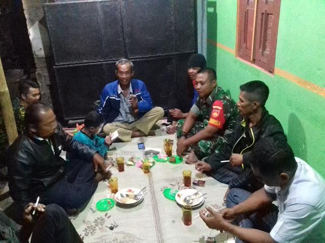 Pertemuan Linmas Desa Sukorejo Bersama Babinsa