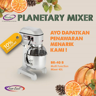 SUN EAST PLANETARY MIXER BR-40 B
