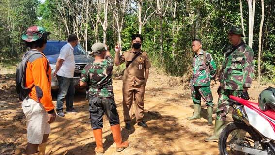Cek Progres Pengerjaan Sasaran Fisik TMMD Ke-111, Tim PUPR Hadir di Lokasi