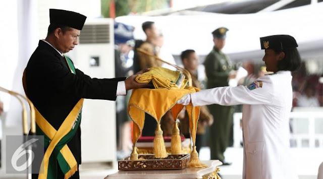 gladi bersih upacara paskibraka nasional