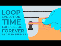 """How to """"Forever"""" Loop Evolution Time Expression in After Effect"""