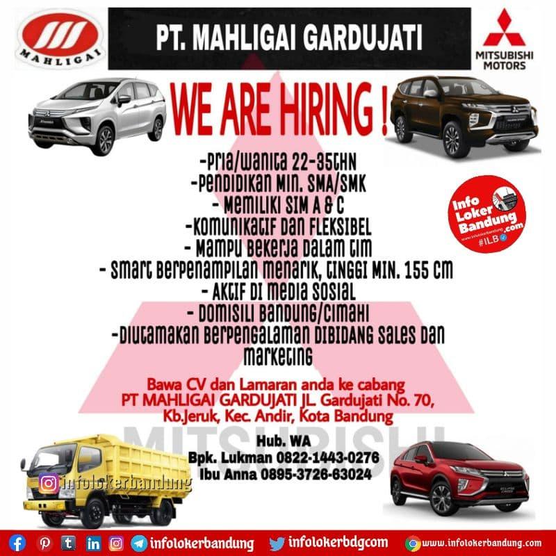 Lowongan Kerja PT Mahligai GARDU JATI Bandung Agustus 2021