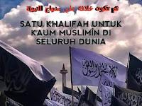 SATU KHALIFAH UNTUK KAUM MUSLIMÎN DI SELURUH DUNIA