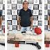 Homem é preso em Santa Inês com sementes de maconha, escopeta e R$ 102 mil que podem ter sido roubados do BB em Bacabal