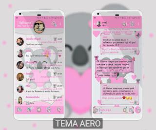 Cute Teddy Bear Theme For YOWhatsApp & Fouad WhatsApp By Syllvanna