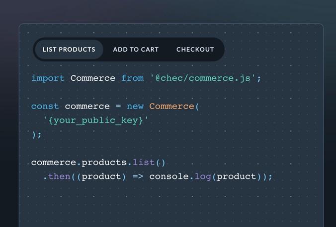 JavaScript and HTML for e Commerce Commerce js