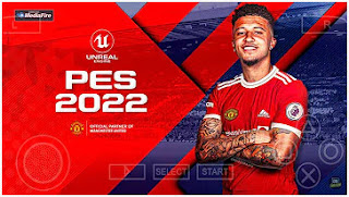 Download PES 2022 PPSSPP New Theme English Commentary Peter Drury & Transfers 2021/22