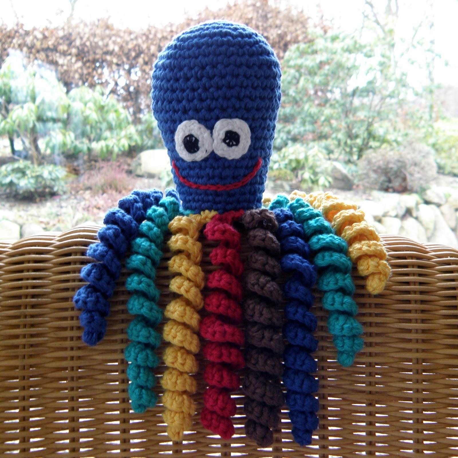 hæklet blæksprutte børn