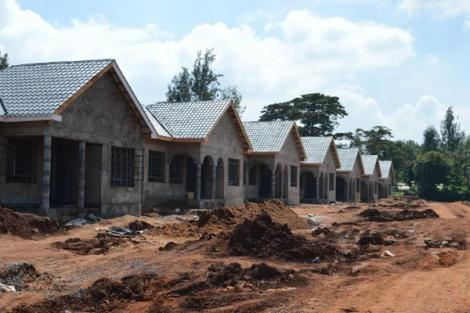 Banda Homes with unfinished investments