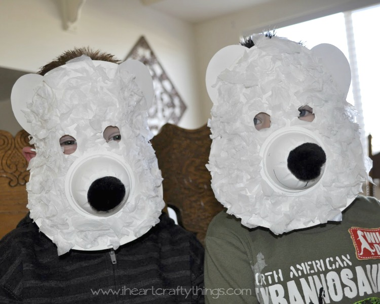 How To Make A Paper Panda Mask