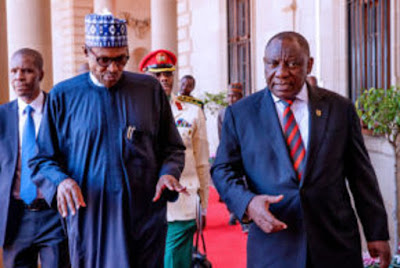 Repay Our Support, Open Your Economy, Buhari Tells S'Africa