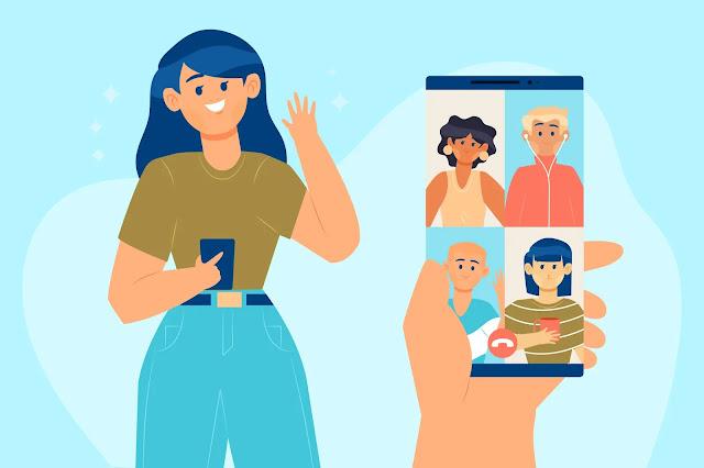 Rekomendasi aplikasi video call random terpopuler 2021