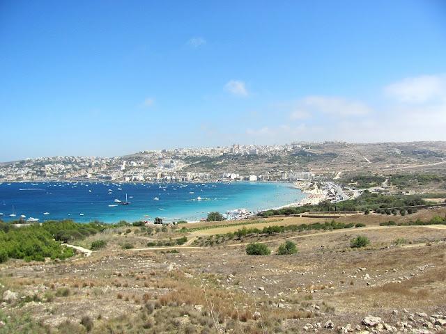 My beachy vacation in Malta