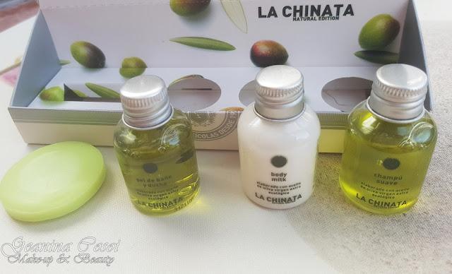 Pack bienvenida Natural Edition Productos La Chinata - Sorteo ganado en el blog Piolineando