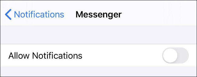 Matikan notifikasi aplikasi