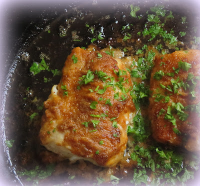 Mediterranean Cod with Lemon & Garlic