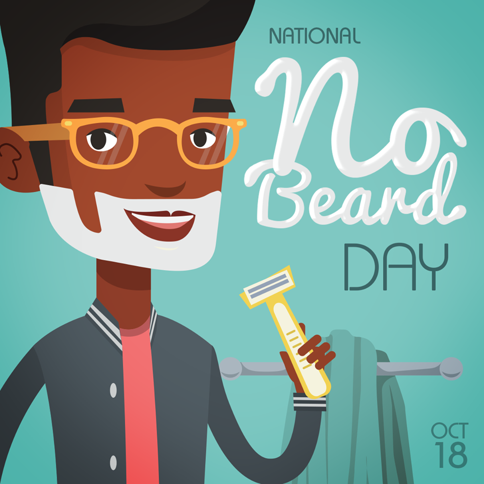 National No Beard Day Wishes
