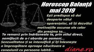 Horoscop mai 2019 Balanță