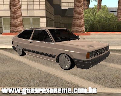 Vw Gol Quadrado Star 1.8 para GTA San Andreas