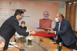 GOI signs MoU for Compressed Bio-Gas Plants
