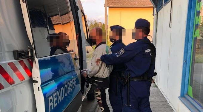 Rablás miatt tartóztattak le két abádszalóki férfit