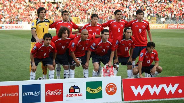 Formación de Chile ante Perú, Clasificatorias Sudáfrica 2010, 17 de octubre de 2007