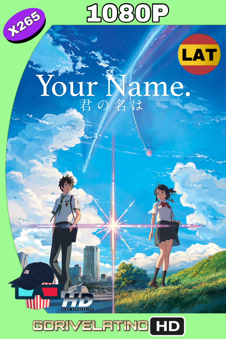 Your Name. (2016) BDRip FULL 1080p (x265) (Latino – Japonés) MKV