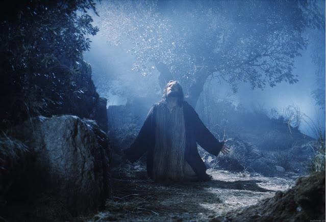 Jesús-ora-glorificación