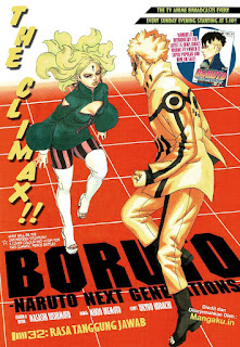 Update! Baca Manga Boruto Chapter 32 Full Sub Indo